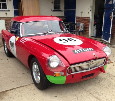 1963 MGB Racing Car